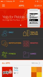 Pebble vole vers son portail d'applications officiel