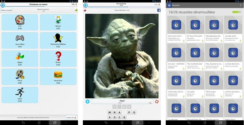 Chronopic : affûtez vos connaissances en quizz sur Android