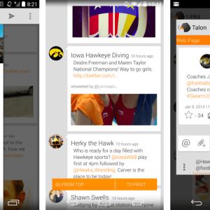 Talon for Twitter s'offre une mise à jour complète sur Android