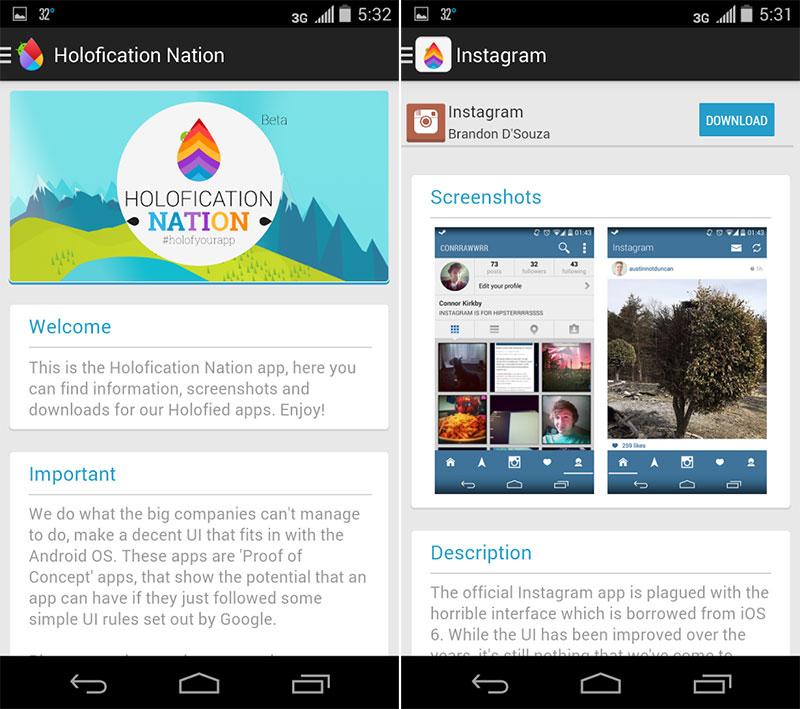 Du Holo pour tous : Holofication Nation est arrivé sur le Play Store
