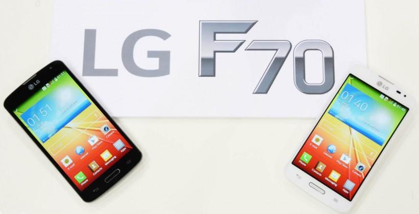 LG présente le F70 : smartphone 4G à 219 euros