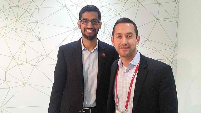 Pour Sundar Pichai, «le Galaxy S6 sera sous Android»
