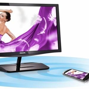 Un écran 23″ Philips Miracast pour streamer sans fil du contenu depuis Android et Windows