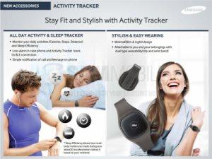 Les premières images du nouveau traqueur d'activité de Samsung