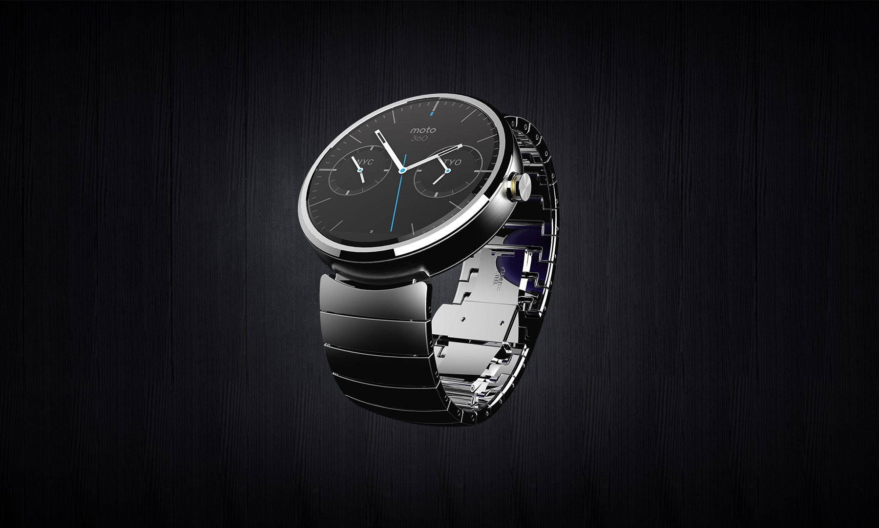 Motorola officialise sa smartwatch Android, la Moto 360