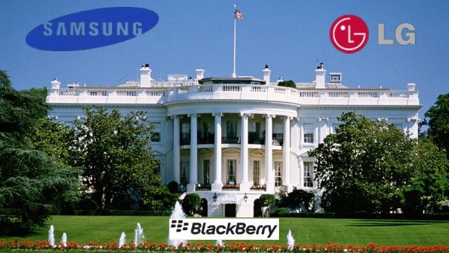 La Maison Blanche choisira-t-elle les terminaux Samsung et LG ?