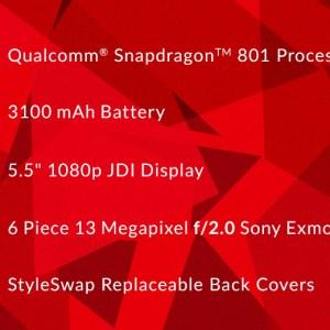 Le OnePlus One signe pour un processeur Qualcomm Snapdragon 801