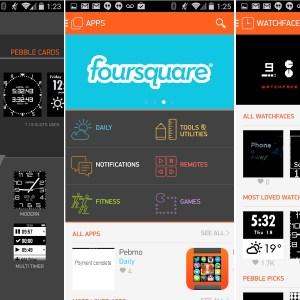 Pebble 2.0 sur Google Play : la montre se dote (enfin) d'un vrai portail d'application