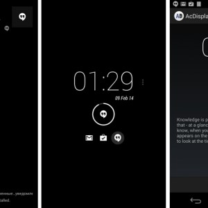 AcDisplay 2.3.1 : l'Active Notifications pour tous s'offre Android 4.3 !