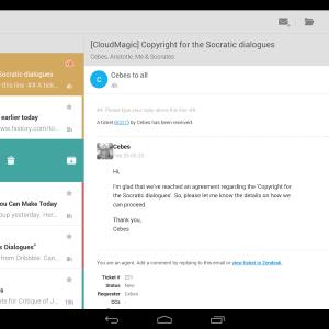CloudMagic : une application e-mail alternative compatible avec plus de 10 services