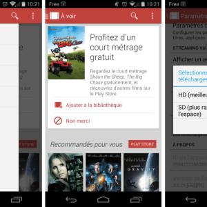 Google Play Films : 37 nouveaux pays supportés et une mise à jour