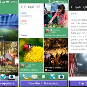 Les applications HTC BlinkFeed et Zoe Camera seront bientôt disponibles pour tous les appareils Android