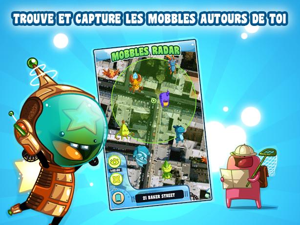 Mobbles, un Pokemon-like qui exploite la réalité augmentée sur Android
