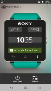 Mise à jour Sony Smartwatch 2 : arrivée des widgets et des cadrans personnalisables