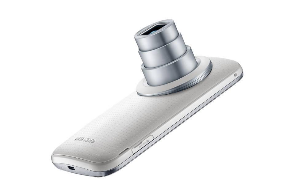 Samsung annonce le Galaxy K Zoom, un photophone avec un zoom 10x