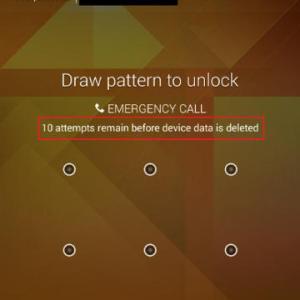 HTC One (M8) : une sécurité efface toutes les données du téléphone