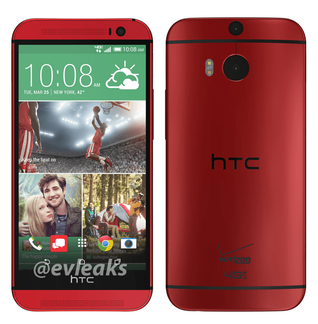 Déjà une version rouge du HTC One (M8)