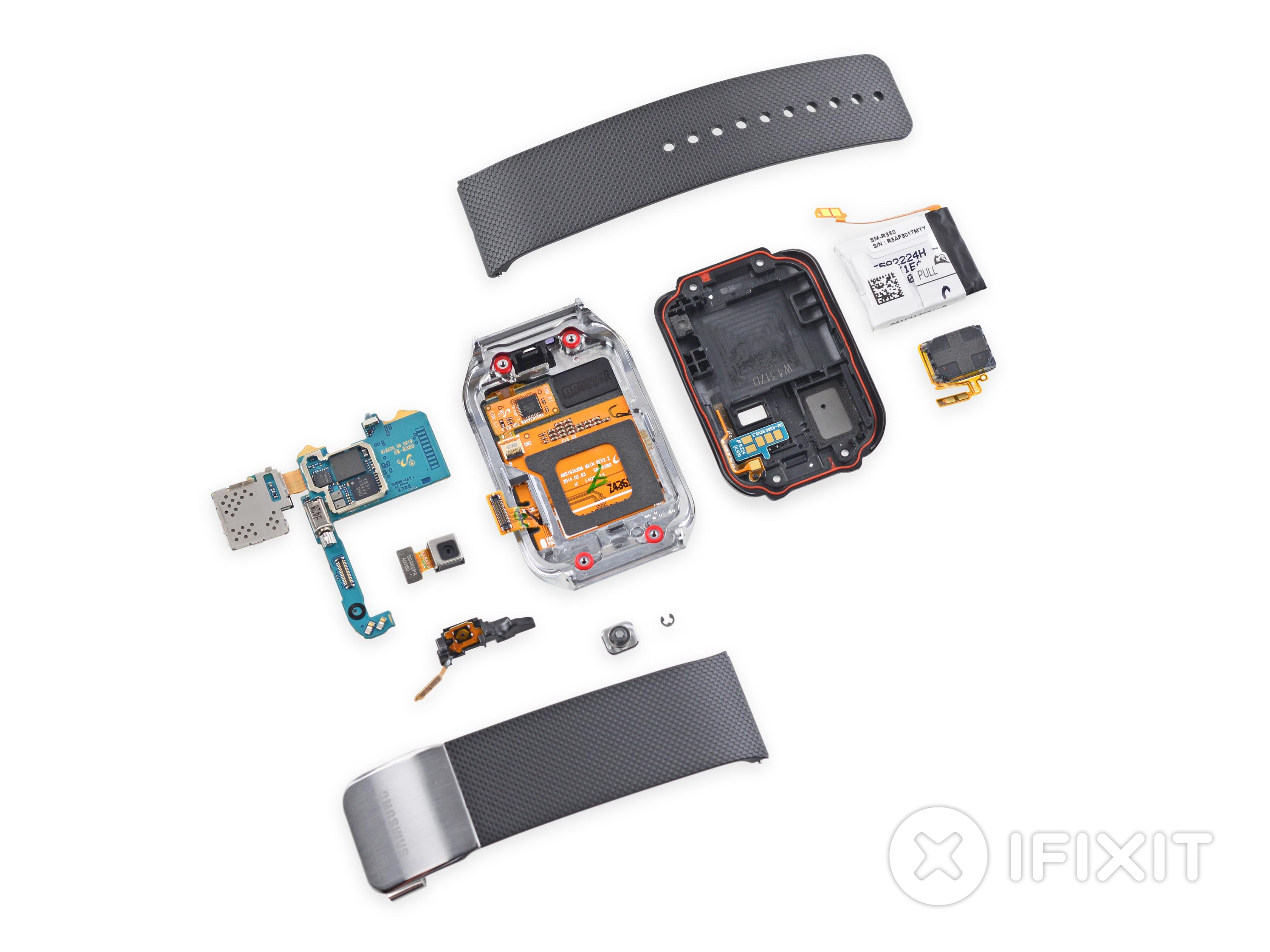 La Samsung Gear 2 se laissera facilement démonter (et réparer)