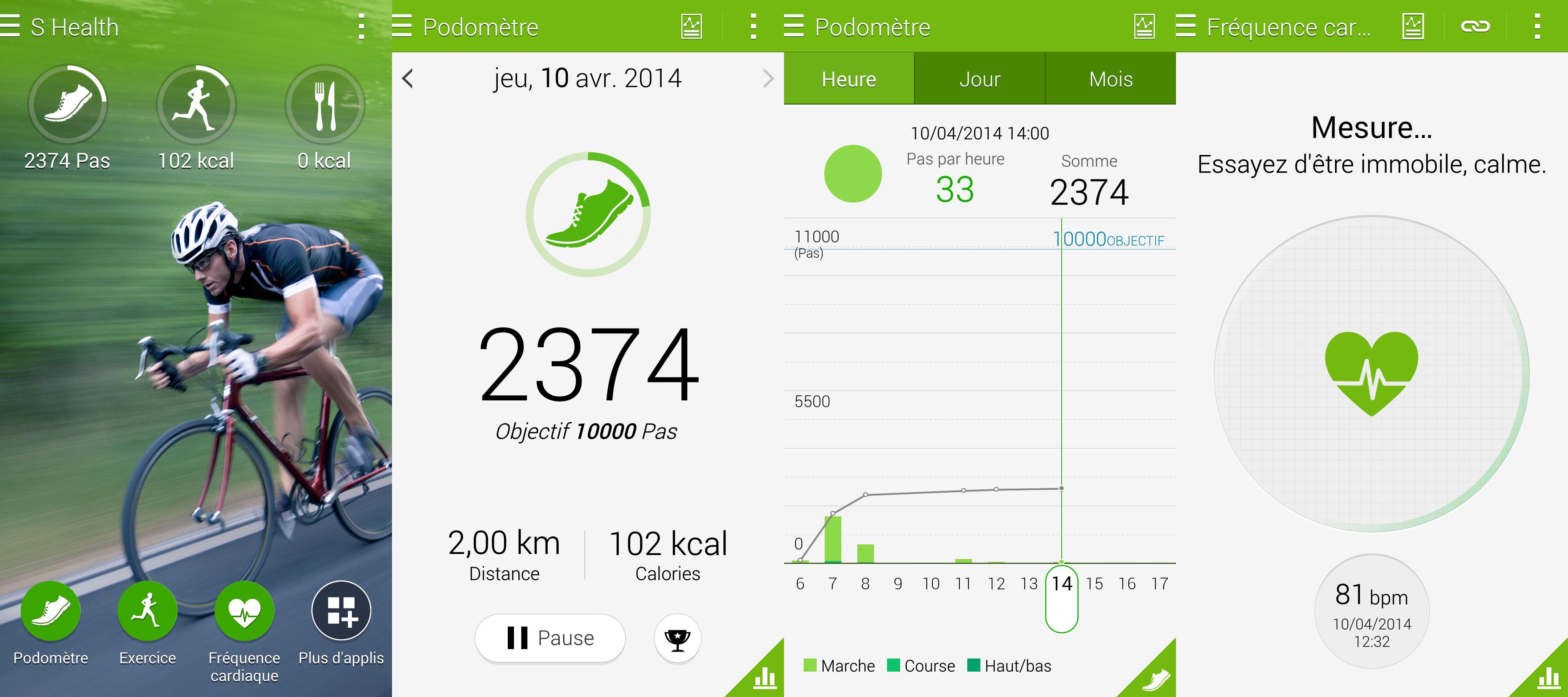 [MAJ] Samsung S Health est désormais utilisable sur tous les mobiles