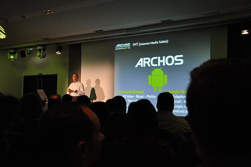 Archos : rendez-vous le 15 septembre 2009 !