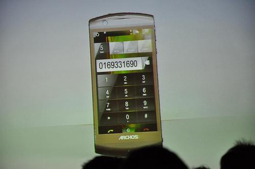 Projet Archos : Archos Phone Tablet