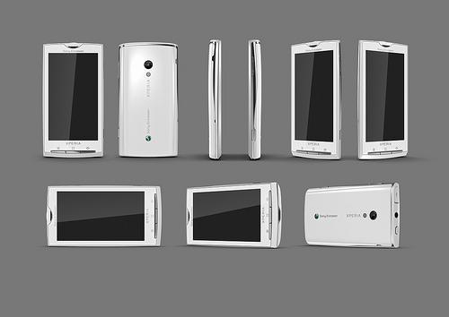 Une photo haute définition du Sony Ericsson Rachael (X3/X10)