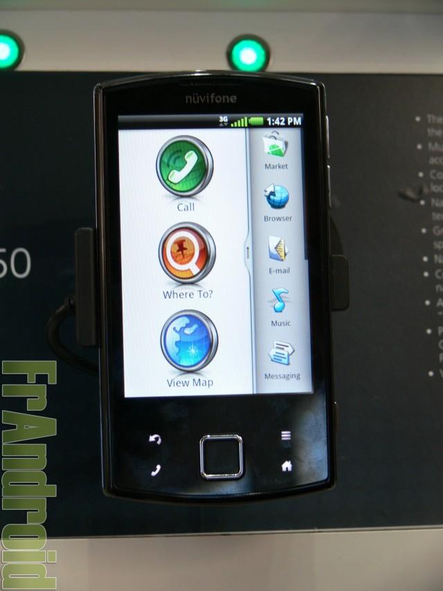 MWC 2010 : Garmin Nüvifone A50