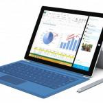 Surface Pro 3 : un écran de 12 pouces mais plus de finesse et de légèreté