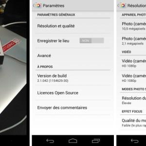 Appareil photo Google 2.1 : prenez des photos pendant l'enregistrement d'une vidéo