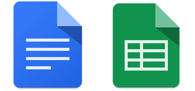 À l'assaut d'Office : Google Docs et Sheets disponibles en tant qu'apps indépendantes