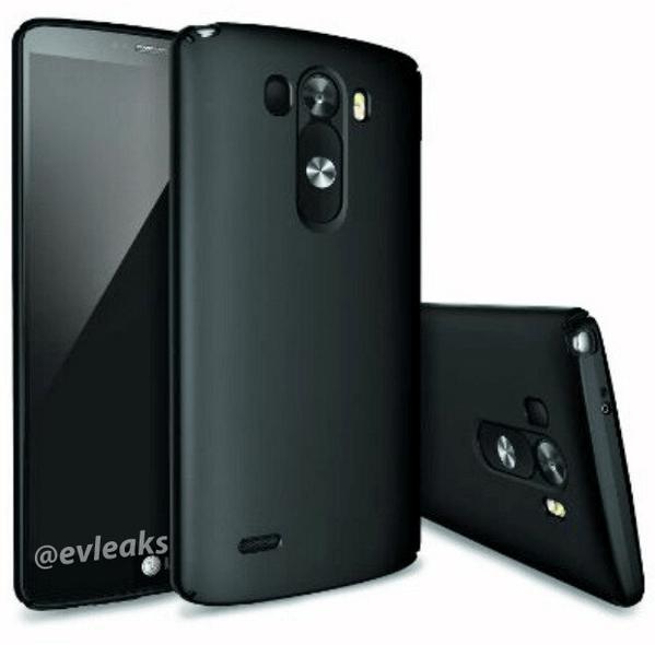 Les premiers visuels du LG G3 en blanc et noir ?