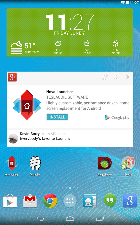 Nova Launcher 3.0 beta disponible à l'essai sur le Google Play