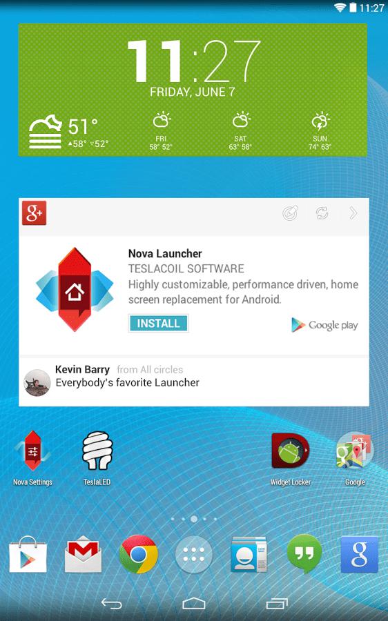 Nova Launcher 3.0 beta disponible à l'essai sur le Google Play