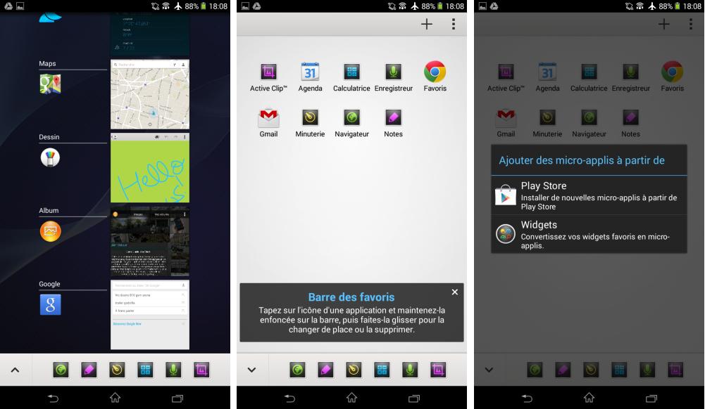 Sony épure Xperia UI pour le rendre plus proche de l'Android Stock