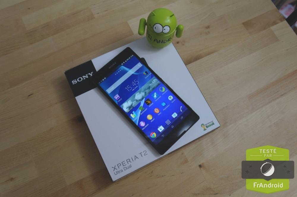 Test du Sony Xperia T2 Ultra, l'une des plus grandes phablettes de la marque