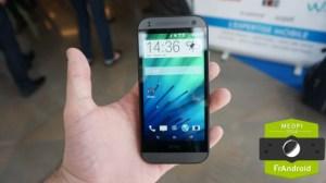 Prise en main du HTC One mini 2, l'ADN du M8 à 449 euros