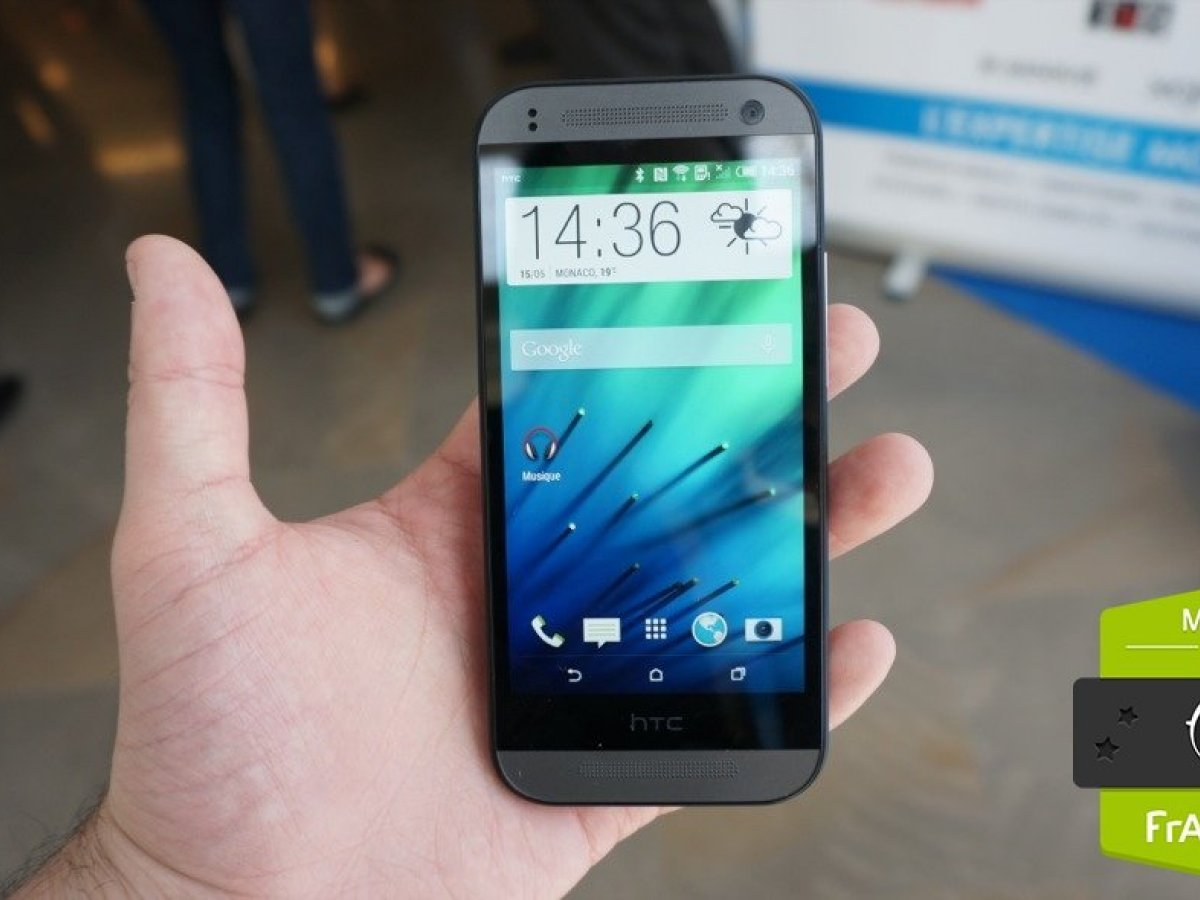 Prise en main du HTC One mini 2, l'ADN du M8 à 449 euros