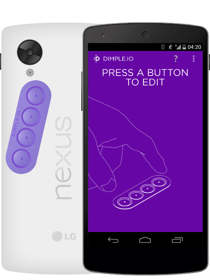 Dimple, des boutons à coller sur smartphone veulent trouver un usage au NFC