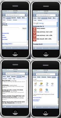 Les services Google adaptés à l'iPhone