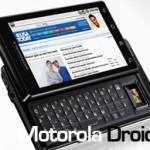 Le Motorola Milestone (alias Droid) sortira au Canada avec Telus