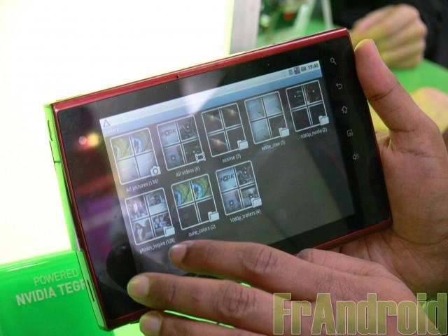 MWC 2010 : NVIDIA Tegra et la tablette Compal NAZ-10 Tablet