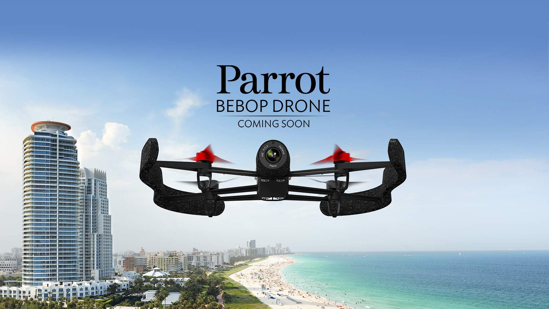 Parrot Bebop Drone, le drone pilotable à longue distance avec l'Oculus Rift et les smartphones