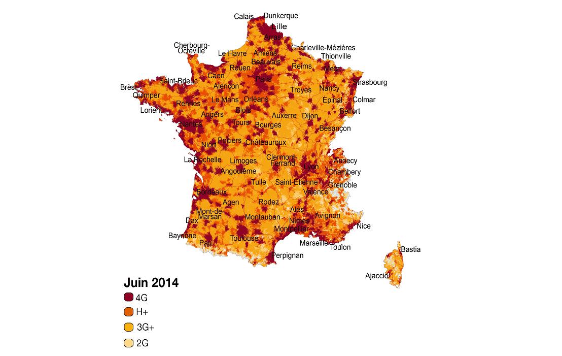 4G : Orange couvre désormais 65 % de la population
