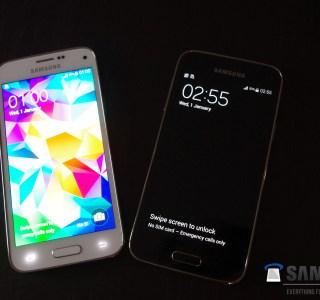 Galaxy S5 mini : l'étanchéité et le capteur d'empreinte confirmés dans une fuite