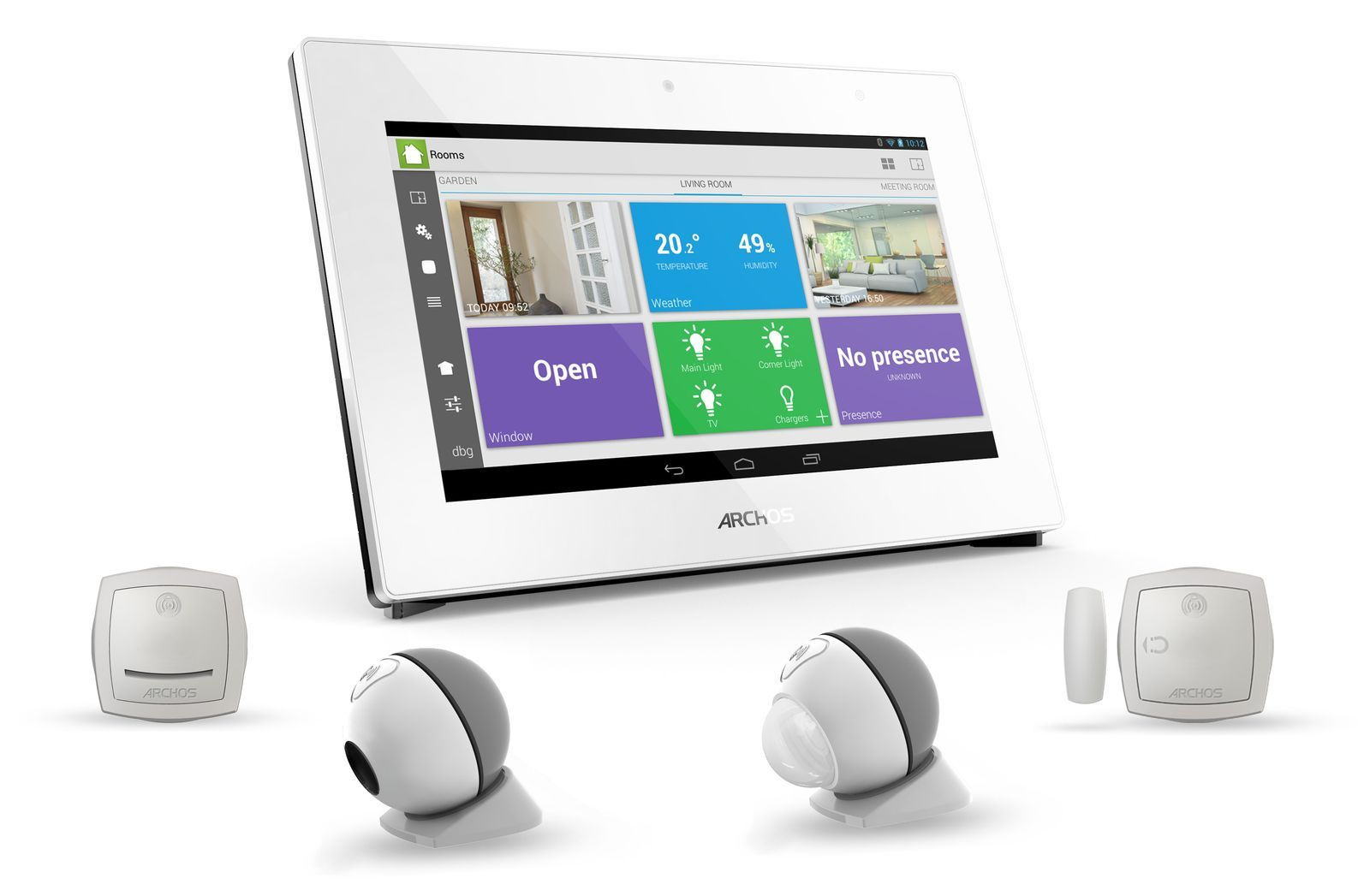 Archos Smart Home : les produits domotiques d'Archos disponibles dès aujourd'hui