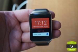 Test de la Samsung Gear Live et présentation d'Android Wear