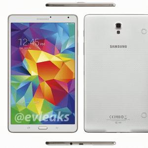 Samsung Galaxy Tab S : des premiers rendus presse des tablettes de 8,4 et 10,5 pouces