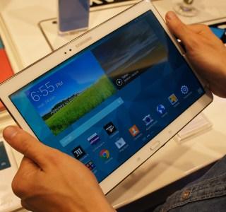 Prise en main des Samsung Galaxy Tab S : puissance, finesse, et légèreté