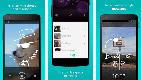 LokLok, une messagerie intégrée directement à l'écran de verrouillage