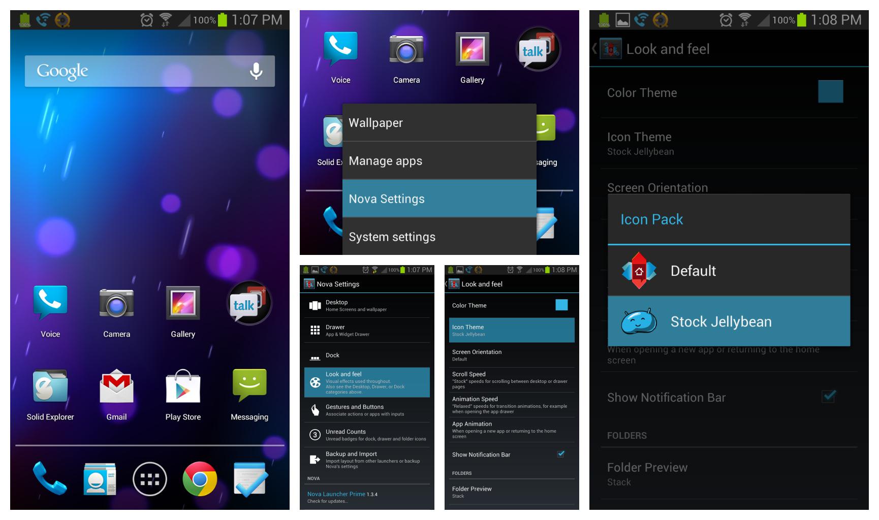 Surcouche logicielle et TouchWiz